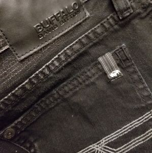 NWOT Buffalo Black Distressed Jeans Size 20